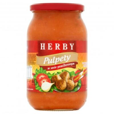 Pulpety 880g Herby