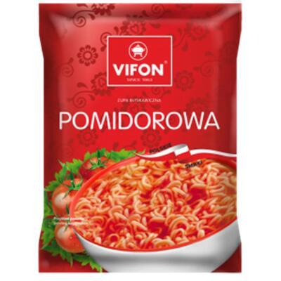 Vifon Pomidorowa Tomatensuppe Instant-Nudelsuppe 65g