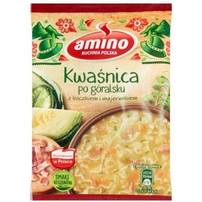 Amino Kwasnica Sauere Suppe Instant-Nudeln 64g