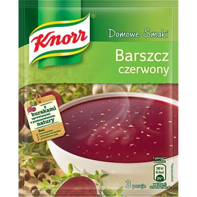 Knorr Barszcz Rote Bete Suppe Borschtsch 53g