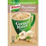 Knorr Goracy Kubek  Champinionssuppe m. Croutons 15g